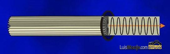 Esa es la luz normal NO POLARIZADA. La LUZ POLARIZADA es la que vibra en un  solo plano 1e25a443a37c