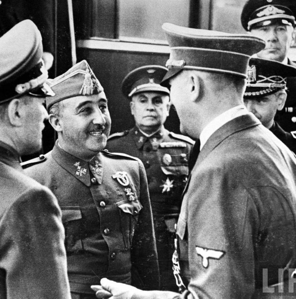 Entrevista de Franco con Hitler en Hendaya