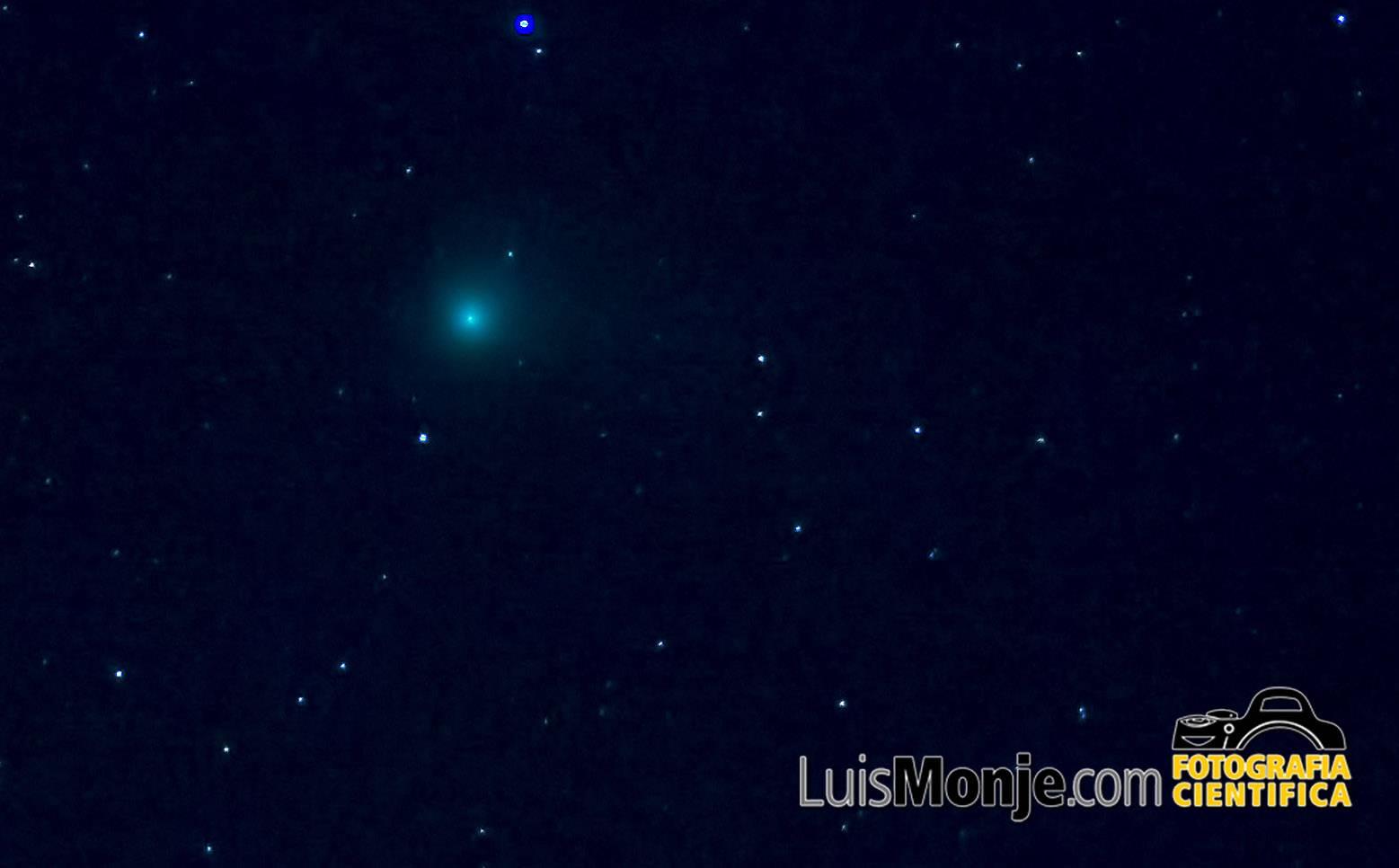 Imagen del cometa Catalina