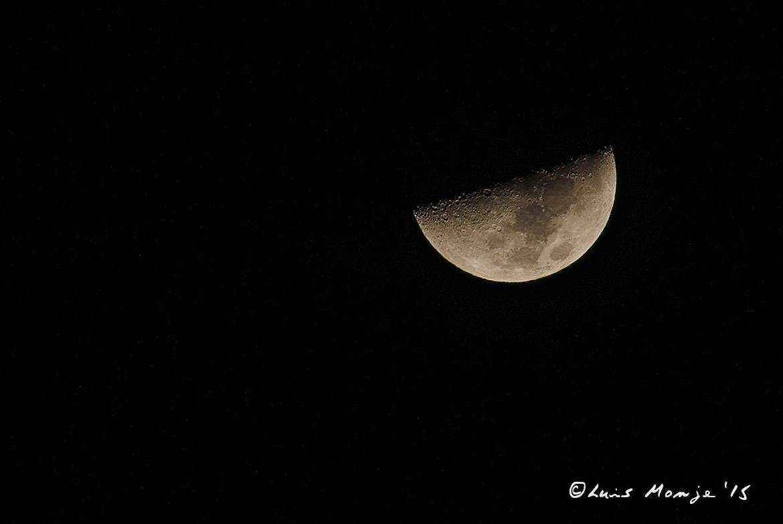 La luna del 17-01-2016 hacia las 01:30 de la madrugada