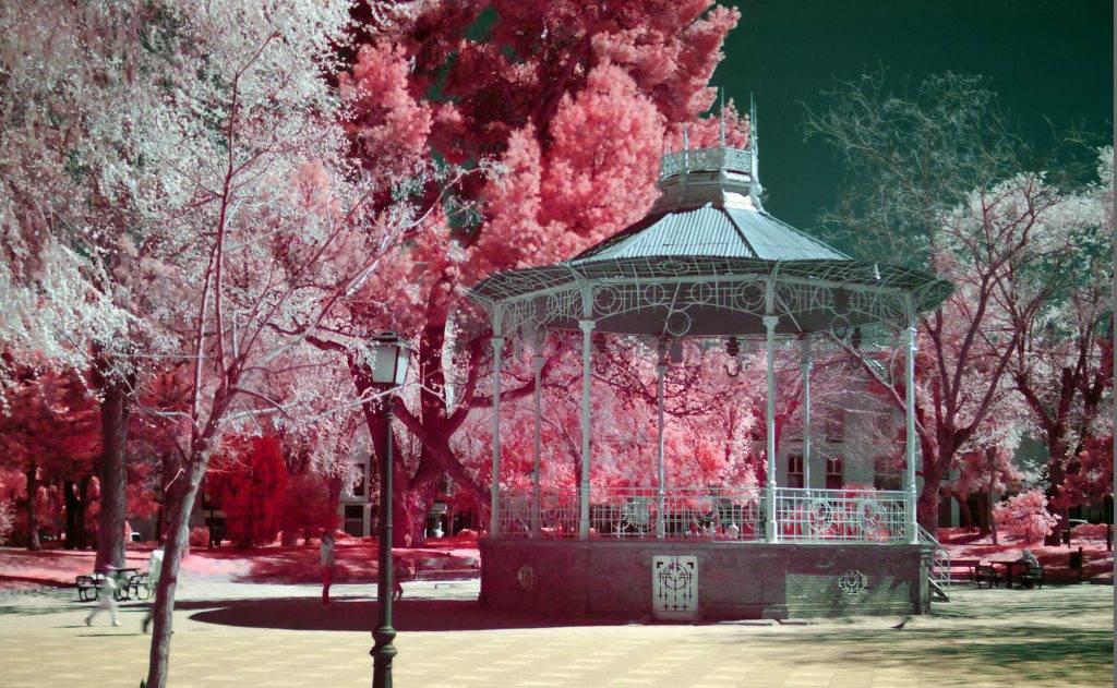 Parque de La Concordia en Infrarrojo